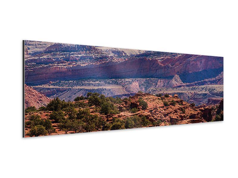 Aluminiumbild Panorama Bruce-Canyon-Nationalpark