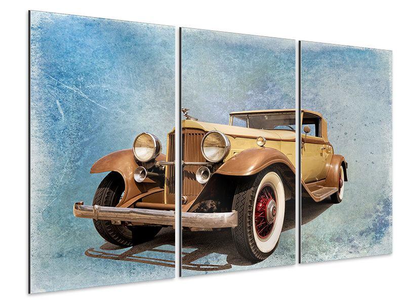 Aluminiumbild 3-teilig Nostalgischer Oldtimer