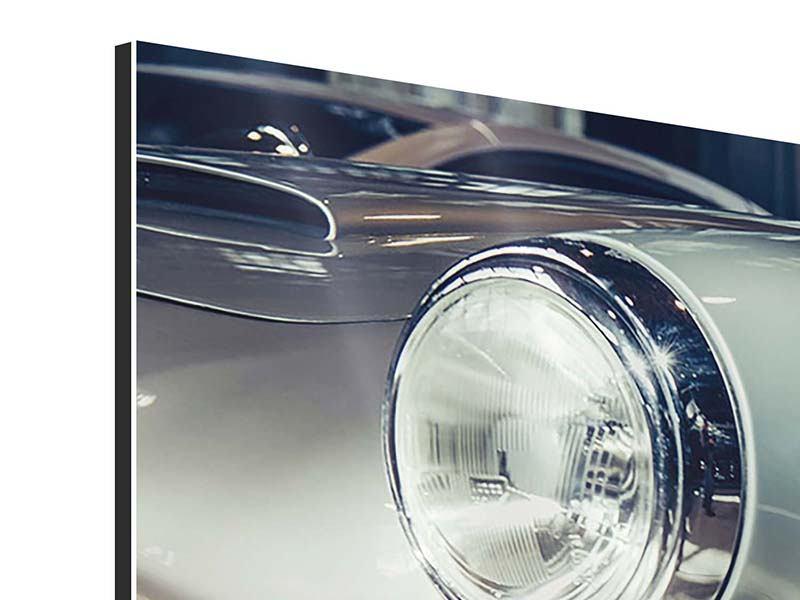Aluminiumbild 3-teilig Classic Car