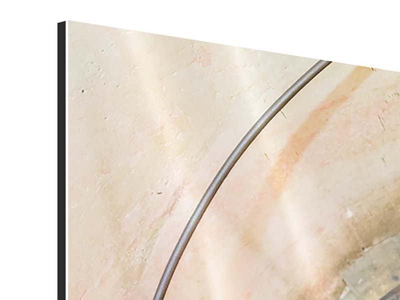 Aluminiumbild 3-teilig Wendeltreppe