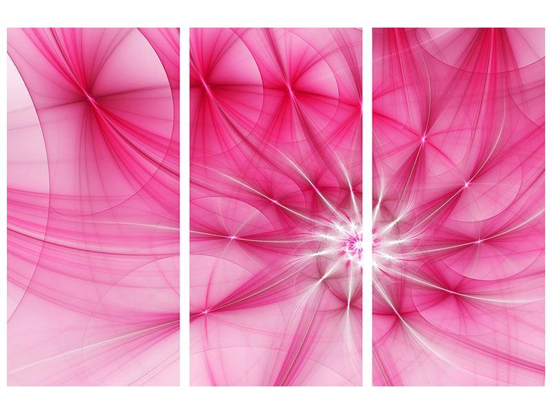 Aluminiumbild 3-teilig Abstrakt Daylight