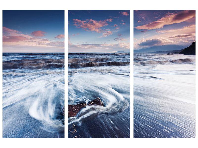 Aluminiumbild 3-teilig Ort der Sehnsucht