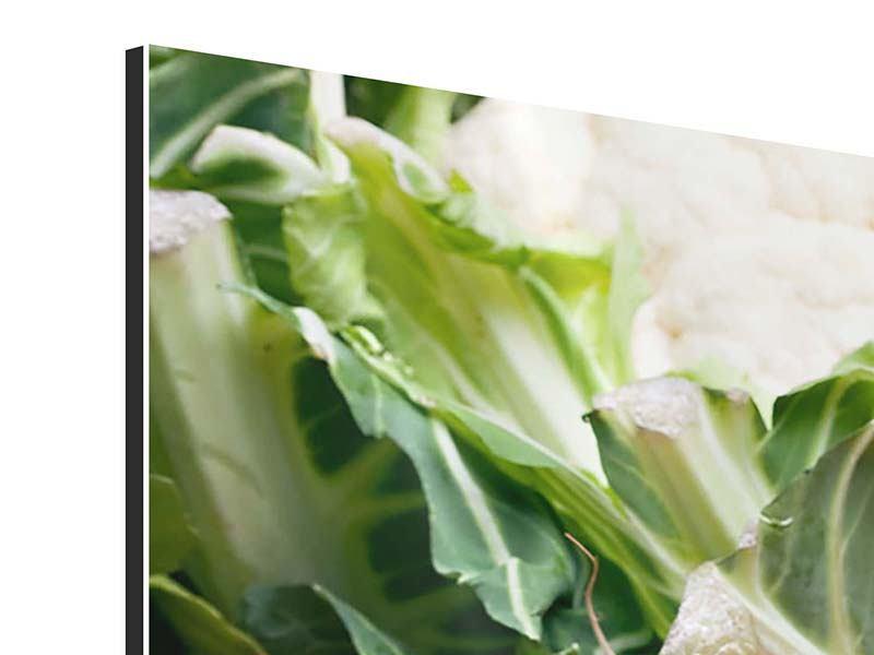 Aluminiumbild 3-teilig Gemüse