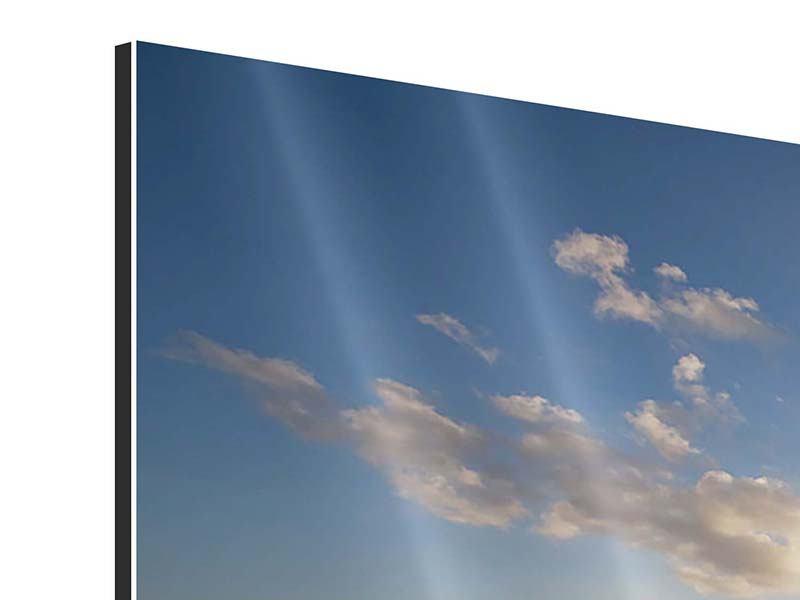 Aluminiumbild 3-teilig Die Wellen des Meeres