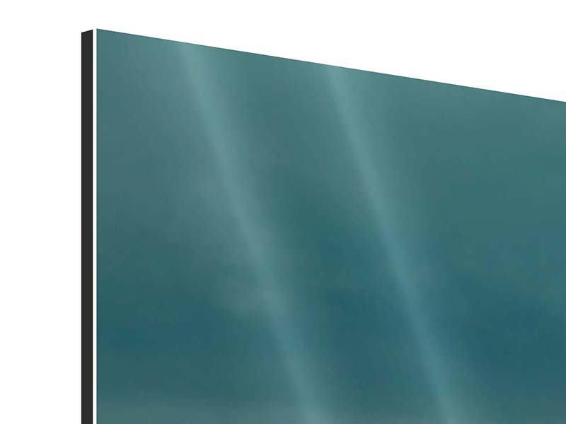 Aluminiumbild 3-teilig Ozean