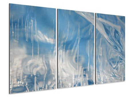 Aluminiumbild 3-teilig Das Eis des Baikalsees