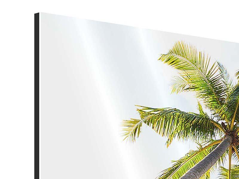Aluminiumbild 3-teilig Bang Sak Bucht