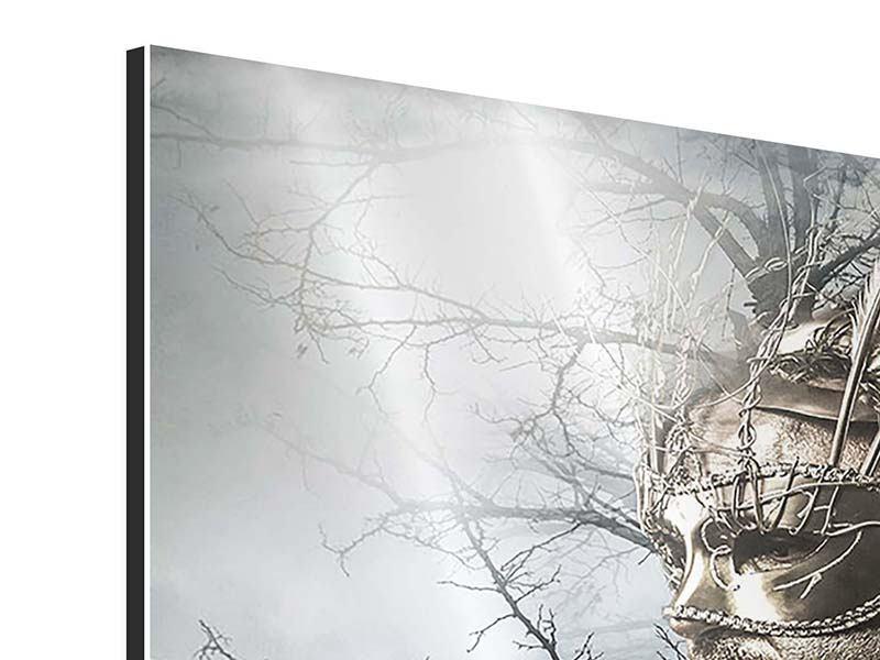 Aluminiumbild 3-teilig Gottheit