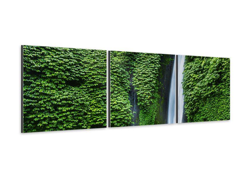 Panorama Aluminiumbild 3-teilig Lebensquelle
