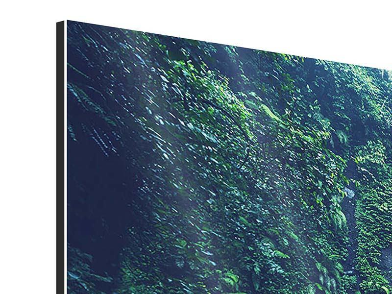 Panorama Aluminiumbild 3-teilig Natur