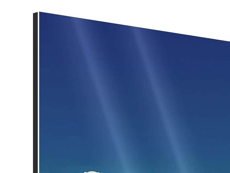 Panorama Aluminiumbild 3-teilig Himmelswolken