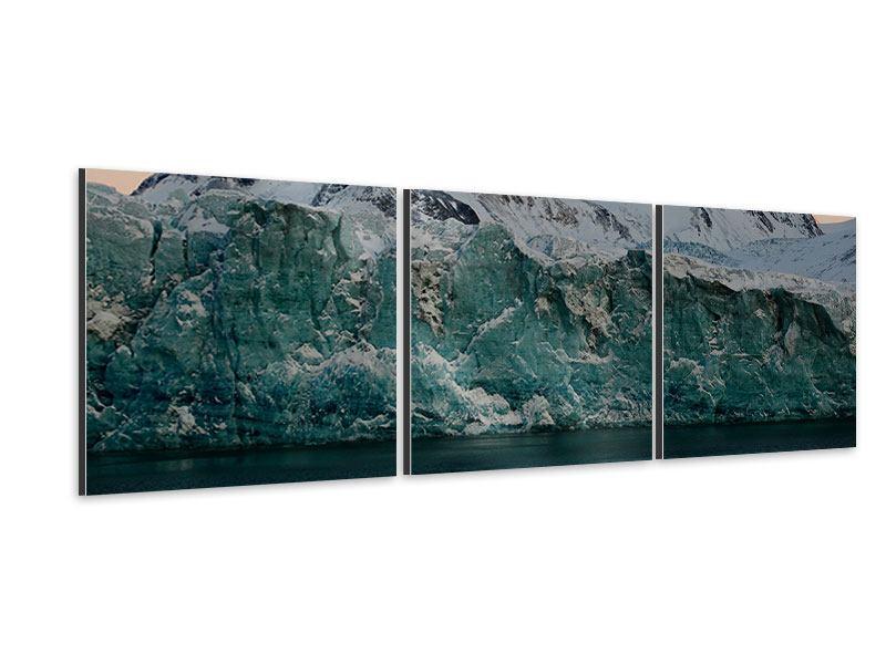 Panorama Aluminiumbild 3-teilig Die Antarktis