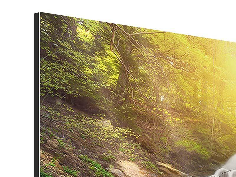 Panorama Aluminiumbild 3-teilig Naturschönheit