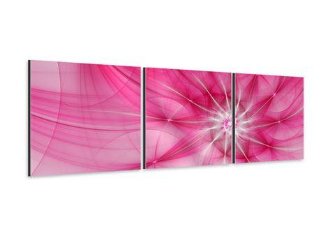 Panorama Aluminiumbild 3-teilig Abstrakt Daylight