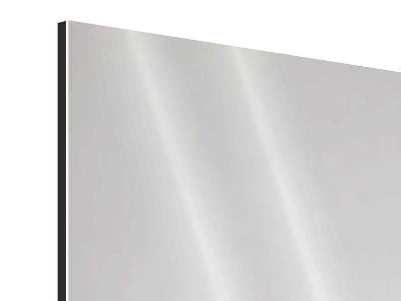 Panorama Aluminiumbild 3-teilig Spa