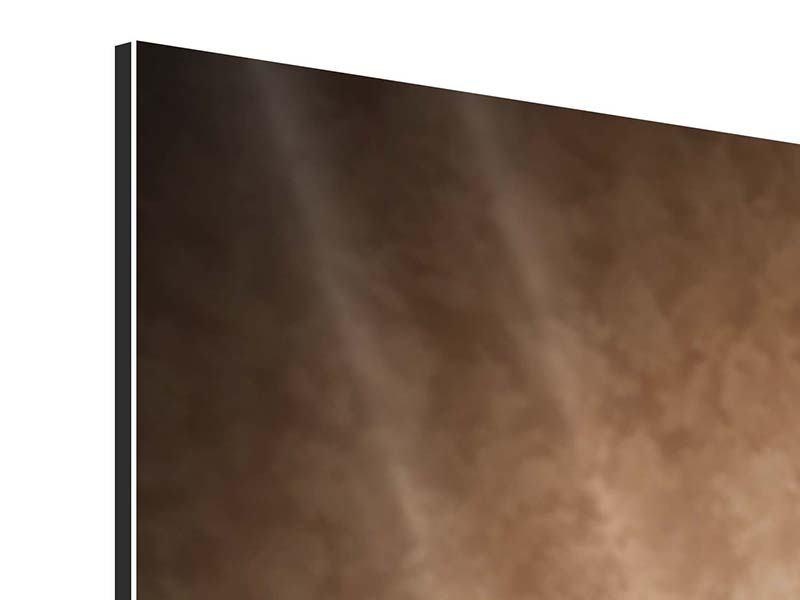 Panorama Aluminiumbild 3-teilig Das Volle Korn