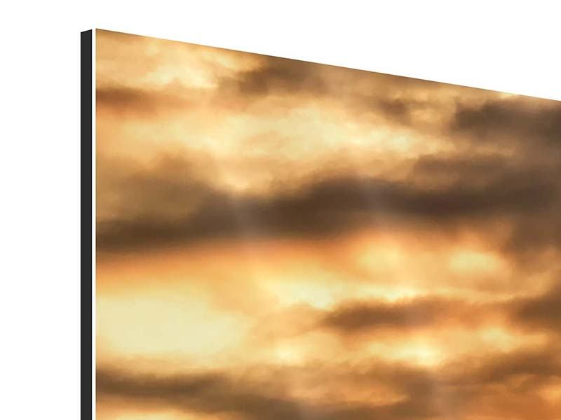 Panorama Aluminiumbild 3-teilig African Dreams
