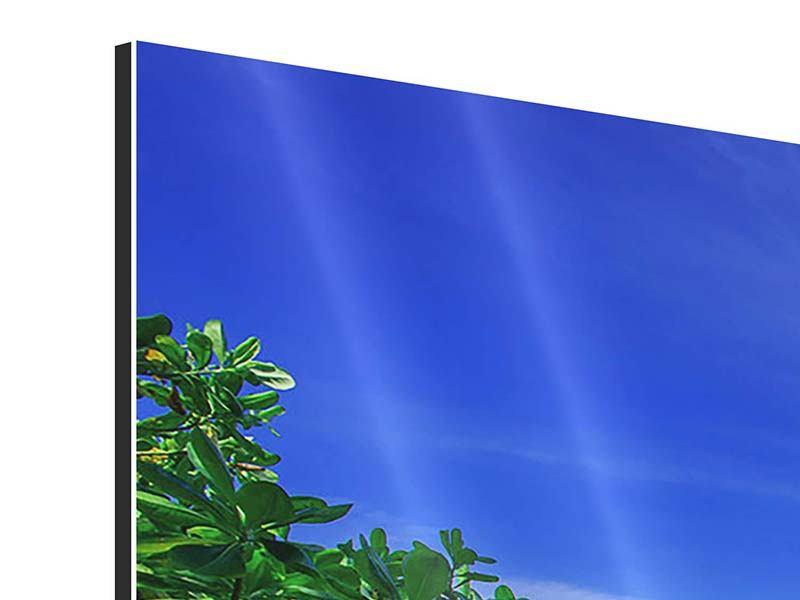 Panorama Aluminiumbild 3-teilig Similan-Inseln