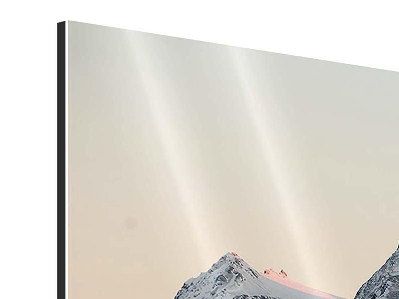Aluminiumbild 3-teilig modern Die Antarktis