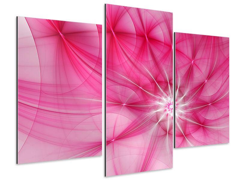 Aluminiumbild 3-teilig modern Abstrakt Daylight