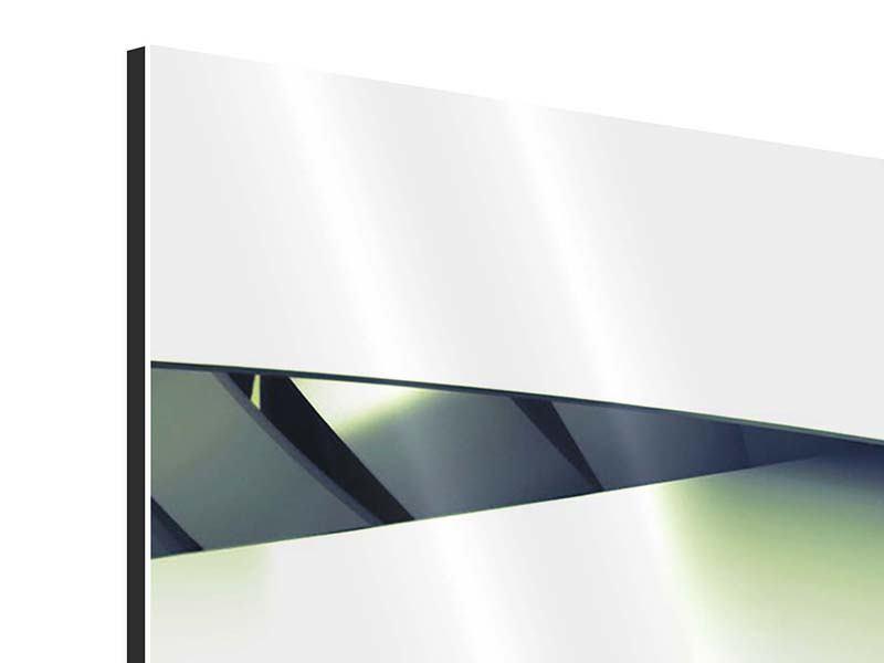 Aluminiumbild 3-teilig modern Abstrakte Perspektiven