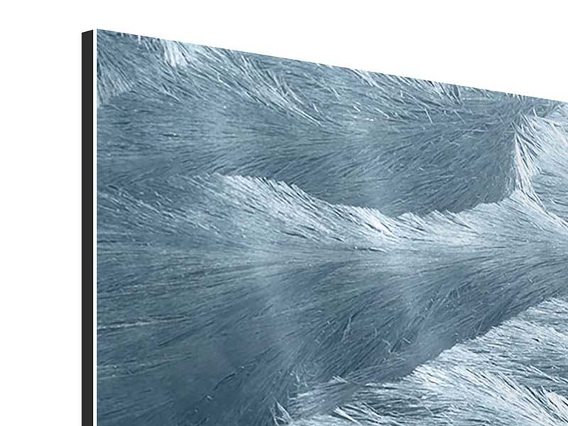 Aluminiumbild 3-teilig modern Eis