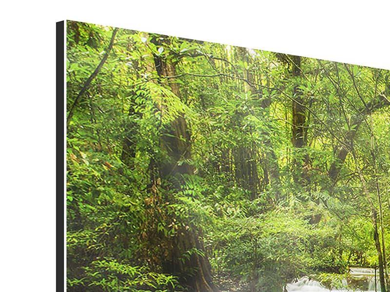 Aluminiumbild 3-teilig modern Erawan