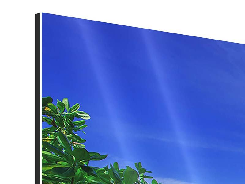 Aluminiumbild 3-teilig modern Similan-Inseln