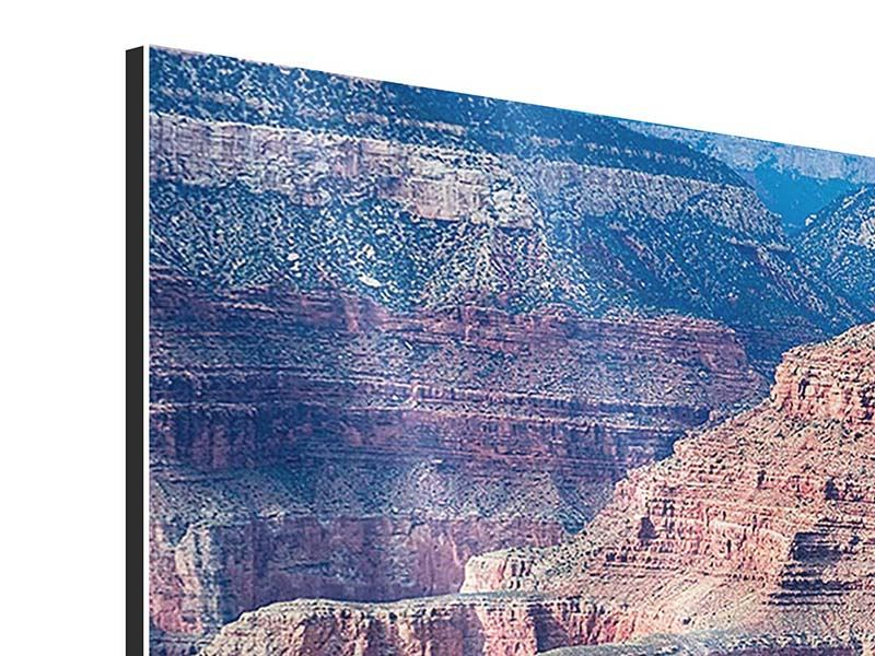 Aluminiumbild 3-teilig modern Gran Canyon