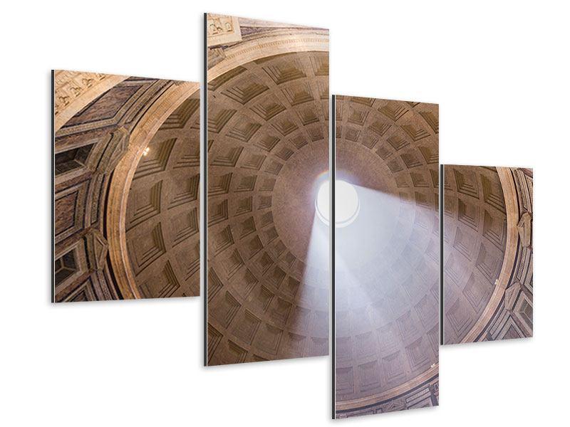 Aluminiumbild 4-teilig modern Petersdom