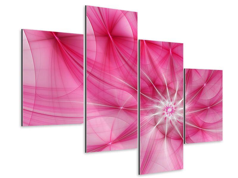 Aluminiumbild 4-teilig modern Abstrakt Daylight