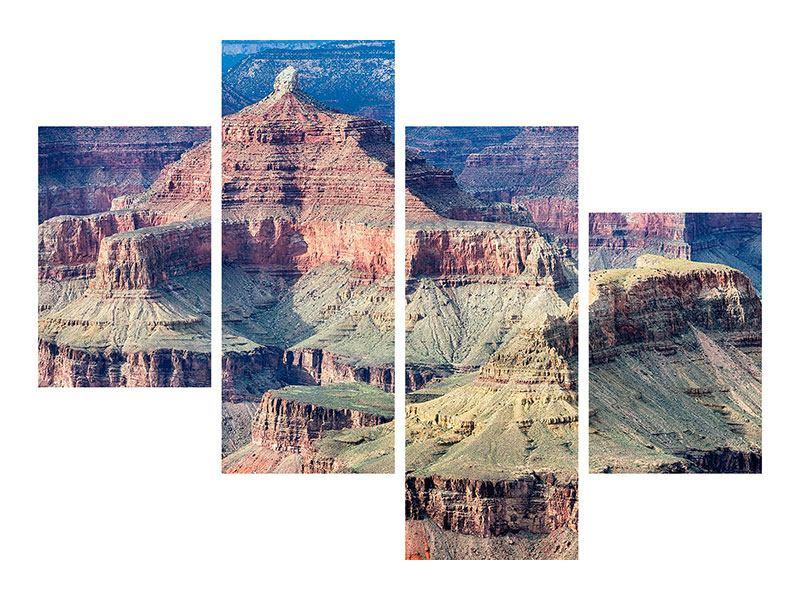 Aluminiumbild 4-teilig modern Gran Canyon