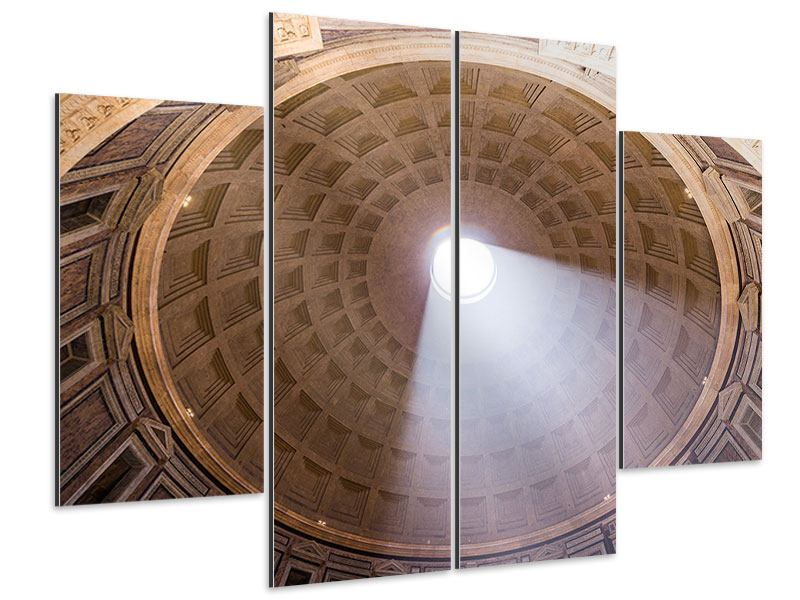 Aluminiumbild 4-teilig Petersdom
