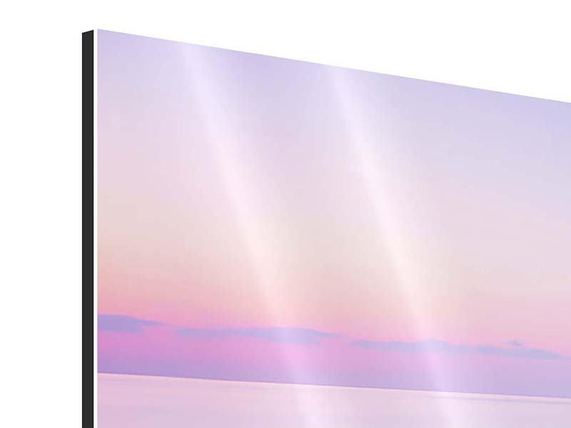 Aluminiumbild 4-teilig Unendlicher Ozean