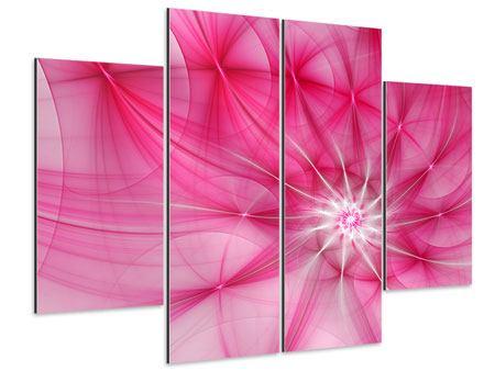 Aluminiumbild 4-teilig Abstrakt Daylight
