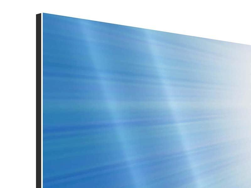 Aluminiumbild 4-teilig Der Himmel