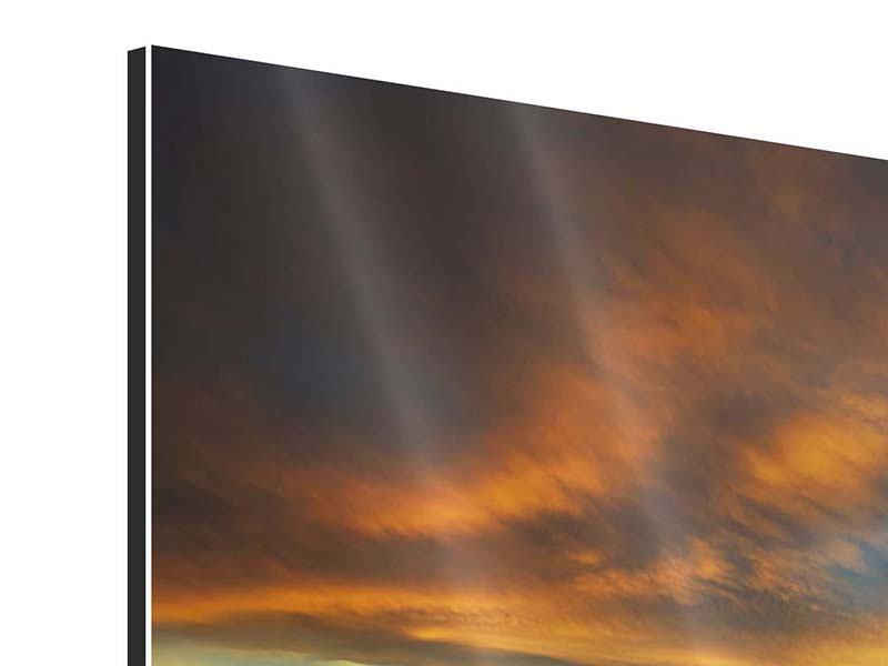 Aluminiumbild 4-teilig Die Wüste