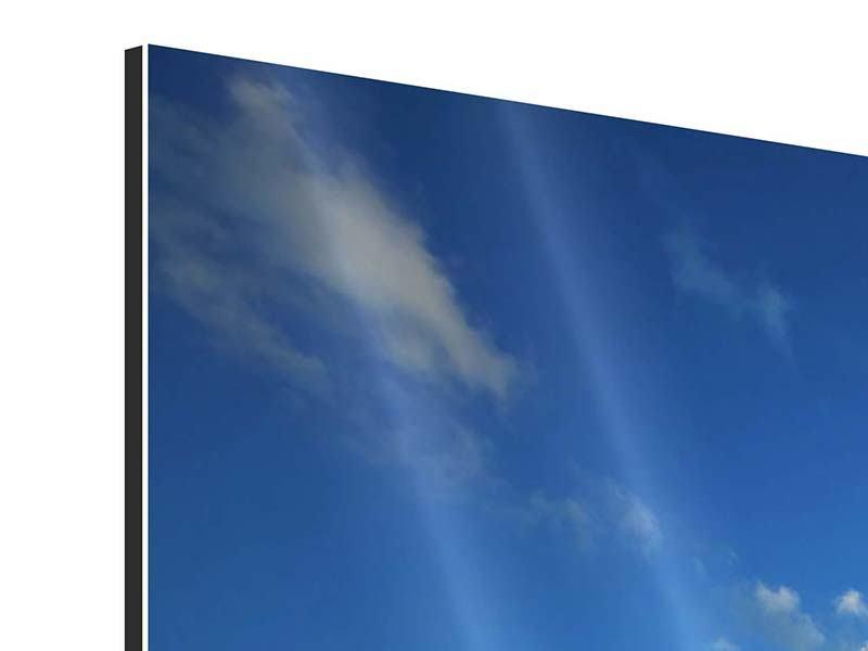 Aluminiumbild 4-teilig Die See