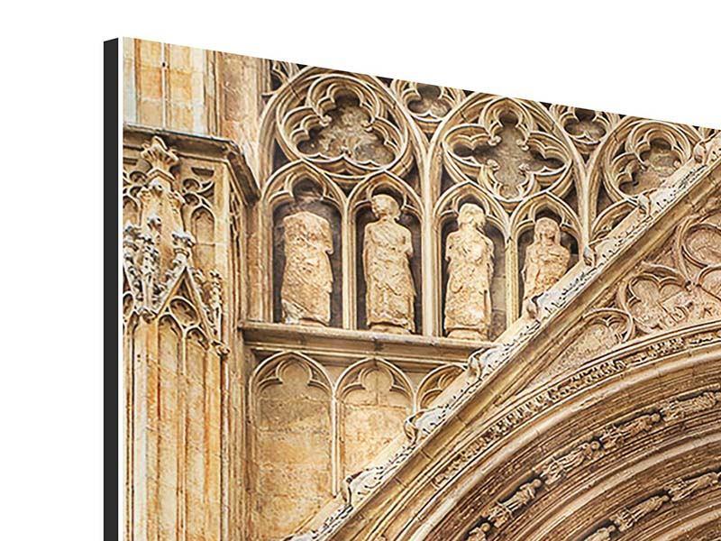 Aluminiumbild 4-teilig Kathedrale von Valencia