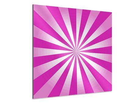 Aluminiumbild Abstrakt Lollipop