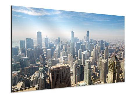 Aluminiumbild Wolkenkratzer Chicago