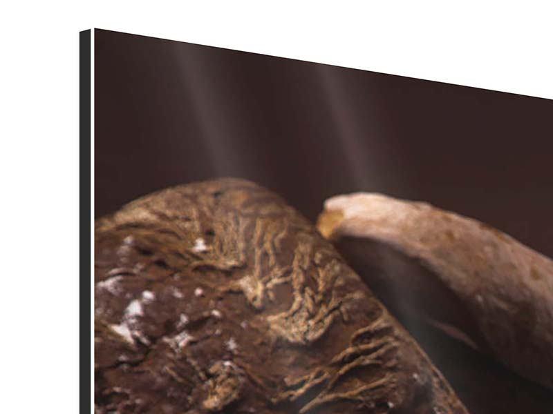 Aluminiumbild Brotbäckerei