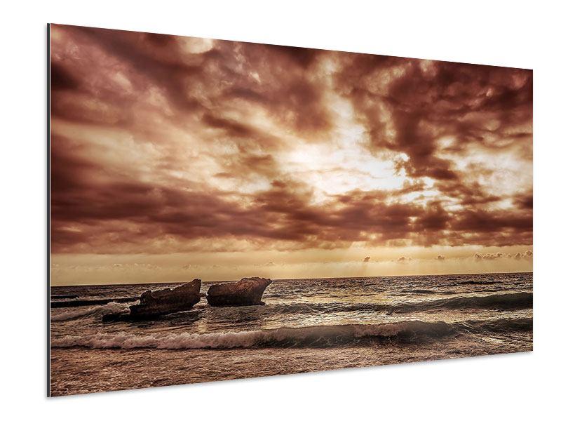 Aluminiumbild Meeresrauschen