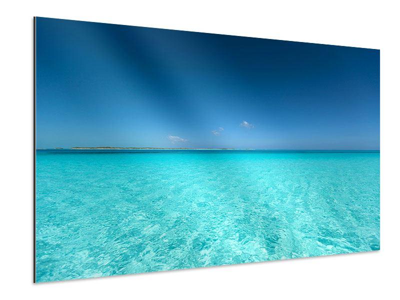 Aluminiumbild Das Meer und Jules Verne