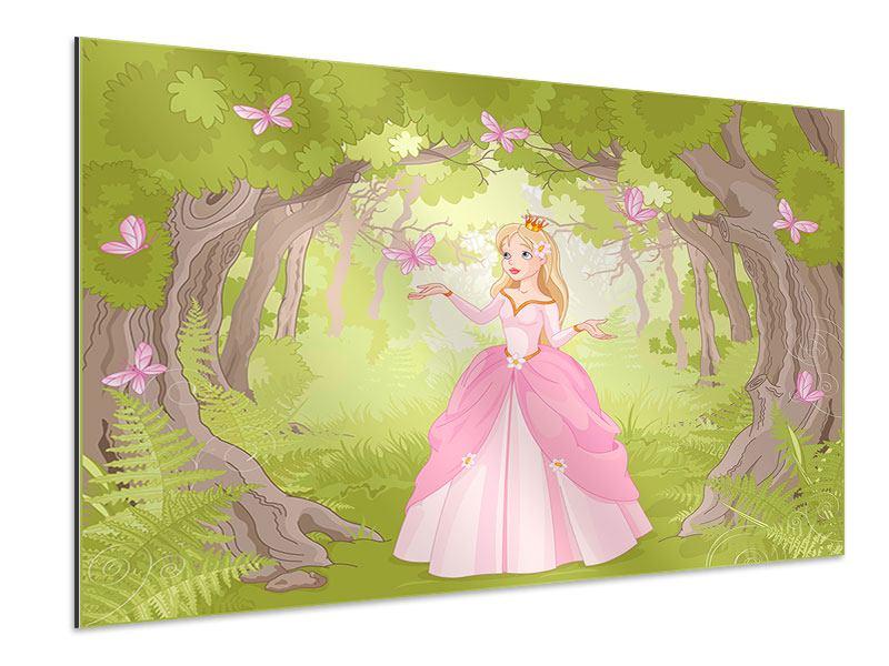 Aluminiumbild Princess