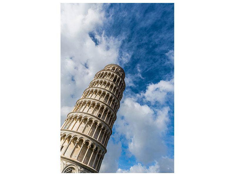 Aluminiumbild Der Tum von Pisa