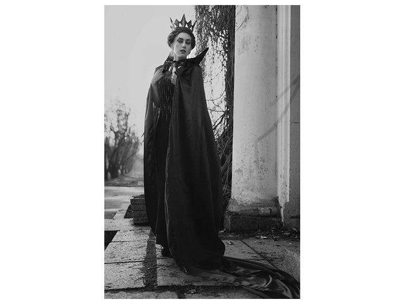 Aluminiumbild Die Königin