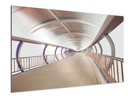 Aluminiumbild Brückenfeeling