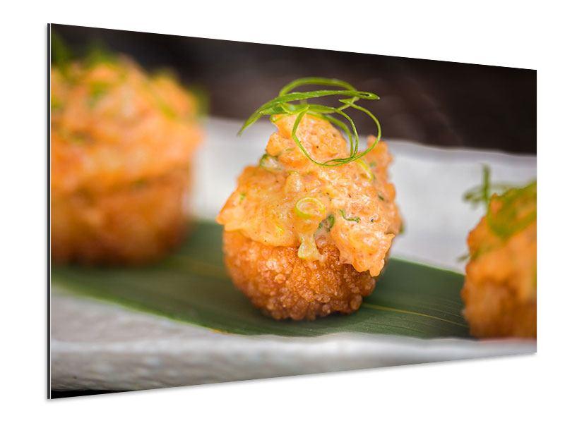 Aluminiumbild Asiatische Küche