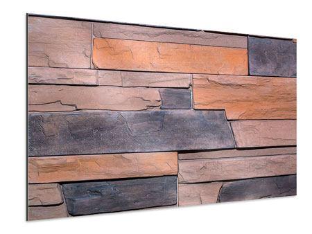 Aluminiumbild Wall